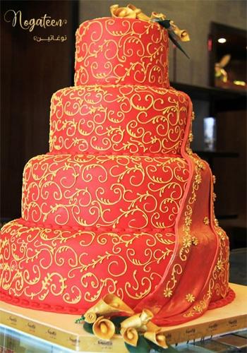 Nogateen Cakes for weddings