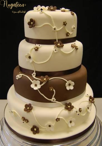 Nogateen wedding Cake